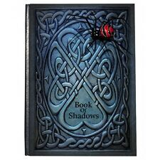 Magical Antique Blue Book of Shadows Spell Book Journal for wicca/witch/HP