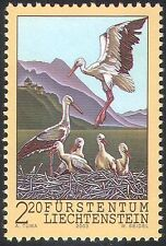 Liechtenstein 2003 White Storks/Birds/Nature/Conservation/Rhine Valley 1v n42380