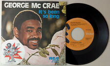 "GEORGE McCRAE / IT'S BEEN SO LONG - HONEY - 7"" (Italy 1975) NM/EX"