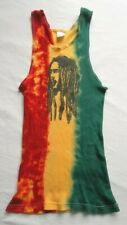 Bob Marley Tank Top Shirt Stretch Rastafari Reggae Jamaica Rasta Size S Vintage?