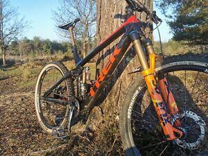Trek remedy 9.9 Carbon Full Suspension Mountain Bike - Large Factory edition