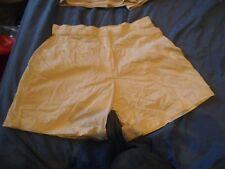 "W1 Womans 1980s TENNIS shorts Fancy dress Hen Retro Small 28"" waist White ADIDAS"