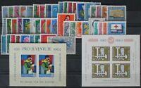 s502) Schweiz  postfrisches Lot 1960 - 1963  KW ca 100 Euro