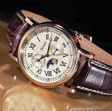 STAUER Rose Gold-Finished Moon Phase Watch - ✔NEW✔   Fast Shipping