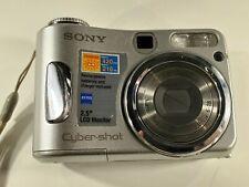 Sony Cyber-shot DSC-S90 4.1MP Digital Camera - Silver