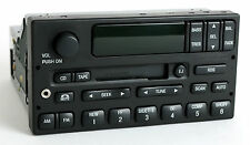 2000-02 Ford Expedition Radio AM FM Cassette w CD Ctrl Aux Input YL1F-18C870-GA