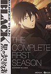 Darker Than Black: The Complete First Season (DVD, 2010, 4-Disc Set) MINT DISKS