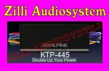 Alpine KTP-445 Amplificatore Plug & Play a 4 Canali 400 Watt Nuovo Italia