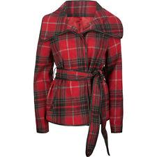 Jack BB Dakota Ginet Belted Womens Jacket Size Large BNWT