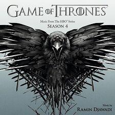 RAMIN DJAWADI - GAME OF THRONES - SEASON 4 (ORIGINAL MOTION PICTUR  CD NEU