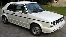 VW Golf 1 Cabrio Convertible Roof Soft Top Cover Assembly Installation Manual EBA