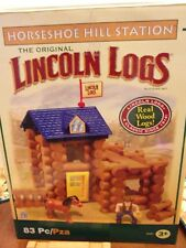65 Pc Series 1 Davy Crockett Limited Edition Hasbro Lincoln Logs