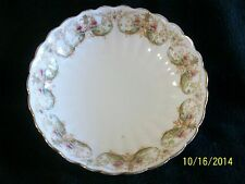 Antique Adderley, W. A. A. & Co. Fluted Porcelain Bowl in Clyde Pattern
