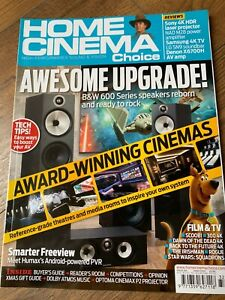 Home Cinema Choice Xmas 2020 Hi-Fi Amps TVs, Tech Etc Magazine