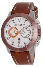 Jet Set Orologio da uomo Vienna j633br-136 Analogico Cronografo Pelle Marrone