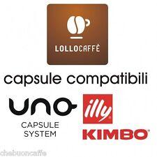 100 CIALDE CAPSULE CAFFE COMP. UNO SYSTEM INDESIT KIMBO ILLY ESPRESSO KAP LOLLO