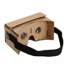Cardboard 3D VR Virtual Reality Google Headset Movie Games Glasses for Phones US