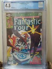 Fantastic Four 227 CGC 4.5 OFF-WHITE TO WHITE 1981 Marvel The Brain Parasites