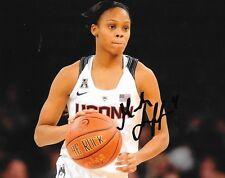 Moriah Jefferson Connecticut Women signed UCONN Huskies 8x10 photo autographed