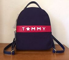 Tommy Hilfiger Backpack Color Navy Blue Handbag Purse Authentic 6943633 467