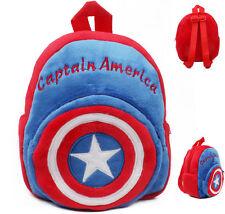ZAINO ASILO SCUOLA CAPITAN AMERICA regalo super eroe Compleanno Natale Bambini