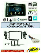 Fits 1988-1998 HONDA ACURA ISUZU Select Stereo Kit, PD-651B, BLUETOOTH USB DVD