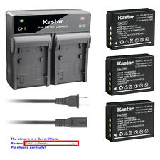 Kastar Battery Rapid Charger for Fuji NP-W126 W126s BC-W126 & Fujifilm X-PRO2