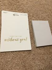 I Cant Say I Do Without You - 11 Cards With Envelopes- Blank Inside