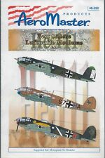 He 111 Best Sellers Luftwaffe Mediums Pt. II 1/48 AeroMaster 48-592