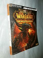 World of  warcraft cataclysm Bradygames blizzard entertainment Official Guide