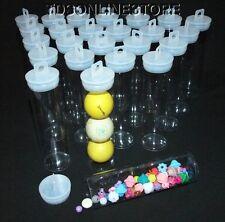 Jumbo Round Clear Plastic Storage Tubes 5.5
