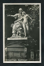 C1920s View: Statue at the Source of the Danube, Donaueschingen
