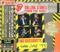 ROLLING STONES-FROM THE VAULT: NO SECUTIRY...-JAPAN DVD+2 SHM-CD Ltd/Ed O75 sd
