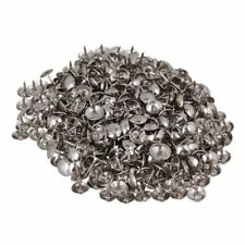 200pcs 8 x 9mm Upholstery Nails Stud Tack with Round Dome Head of Silver