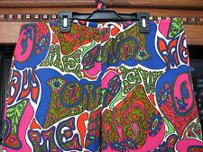 Psychedelic Love pants 1960's vintage Jantzen brand men's 36 38 RaRe hippy