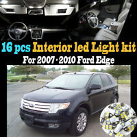 12Pc Super White Interior LED Light Bulb Kit Package for 2003-2005 Honda Pilot