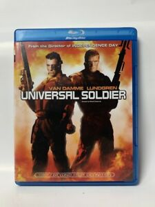 UNIVERSAL SOLDIER rare US Studio Canal BLU-RAY cult 80s sci-fi movie