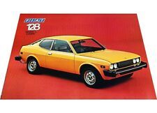 1975 Fiat 128 Sport L Coupe Original 1-page Car Brochure Card