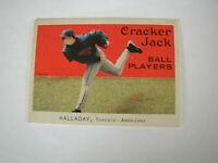 2004 TOPPS CRACKER JACK BALL PLAYERS ROY HALLADAY CARD #91 TORONTO BLUE JAYS