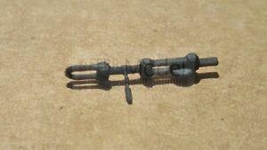 FERRMODEL 384 - Gancio completo di tenditore in posizione aperta di traino. scal