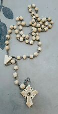 Vintage Carved Rosary Beads