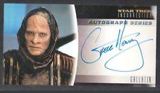 STAR TREK INSURRECTION (Skybox 1998) AUTOGRAPH CARD #A11 GREGG HENRY