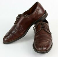 "Clark Street "" ALLEN EDMONDS "" Mens 9 D Leather Split Toe Dress Shoes"
