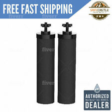 2 Black Berkey Water Filters Replacement Filters - Free 2 Day Delivery