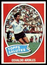 Topps Footballers 1979 Pale Blue 80 Glen Hoddle Tottenham Hotspur No B1