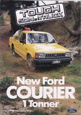 1985 FORD COURIER UTE Australian 6p Brochure like MAZDA B-SERIES