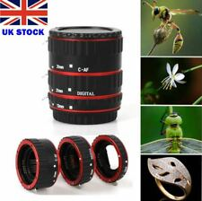 NEW Auto Focus AF Macro Lens Extension Tube Ring Adapter for Canon EOS EF-S Lens