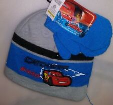 TODDLERS 2 PC SET 1 HAT 1 PR MITTENS 1 SIZE FITS MOST CARS McQUEEN A-19