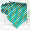 Cravatta uomo seta verde Jacquard Made in Italy business / matrimoni
