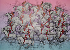 """""""Exodus""""  Serigraph by Guillaume Azoulay"""